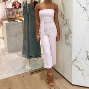 75f6cca58be4 Kookai Dresses - Kookai Oyster Jumpsuit - White